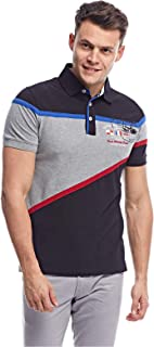 Pierre Cardin Casual Polo for Men - Black & grey