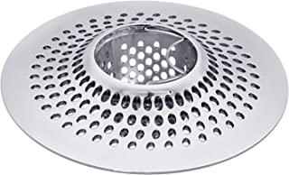 LEKEYE Drain Hair Catcher/Bathtub Shower Drain Hair Trap/Strainer Stainless Steel Drain Protector