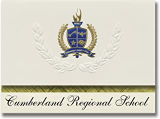 Signature Announcements Cumberland Regional School (Vineland, NJ) Graduation Announcements, Presidential style, Basic pack...