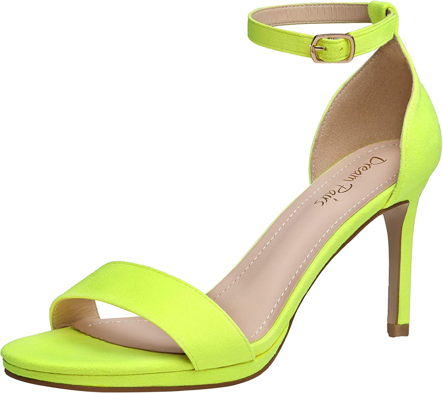 DREAM PAIRS Women's Ankle Strap Heels High Nippon regular agency Heeled Pumps Stiletto Cheap