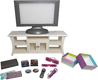 """American Girl Truly Me Music and Movies Entertainment Set for 18"""" Dolls"""