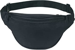 Fanny Pack, Unisex 2 Zipper Quick Release Buckle Travel Sport Running Waist Fanny Pack