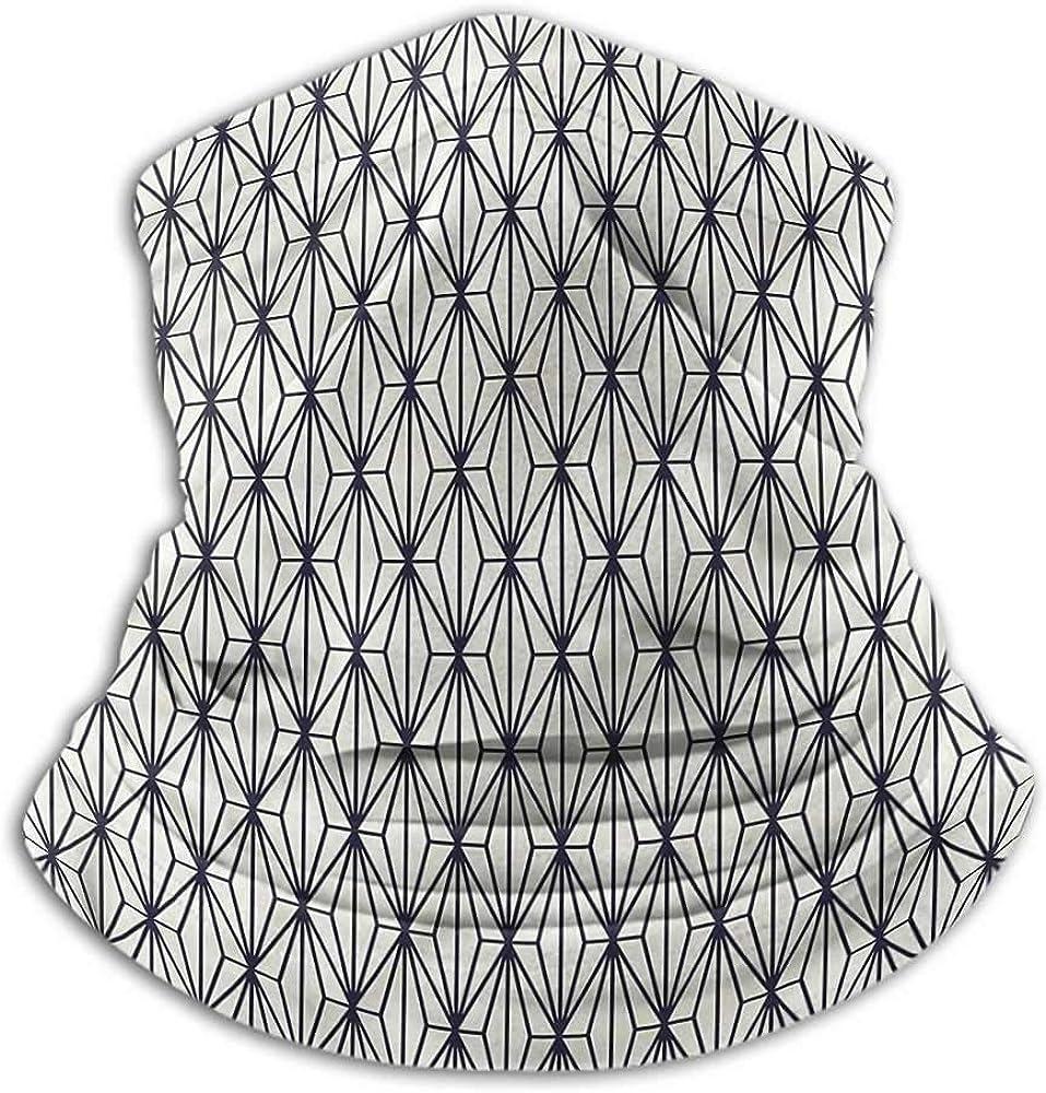 Bandanas For Women Geometric Headband Neck Gaiter Bamboo Tree Nature 10 x 12 Inch