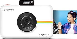 Polaroid Snap Touch - Cámara digital con impresión instantánea y pantalla LCD con tecnología Zero Zink blanco