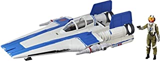 Star Wars Force Link 2.0 Resistance A-wing Fighter and Resistance Pilot Tallie Figure