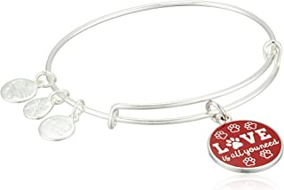 Alex and Ani Words are Powerful, Love is All You Need EWB Bangle Bracelet