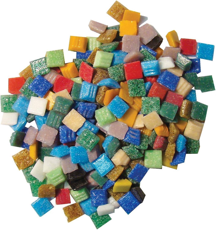 wholesape barato Jennifer's Mosaics Variety 1cm Venetian Style Glass Mosaic Mosaic Mosaic Tile, Assorted Colours, 3-Pound  edición limitada