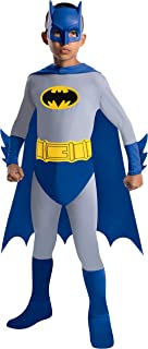 Batman The Brave and The Bold Batman Costume with Mask and Cape, Small