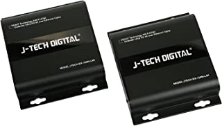 J-Tech Digital HDbitT Series ONE to Many Connection Ultra HD 4K HDMI Extender Over TCP/IP Ethernet/Over Single Cat5e/cat6 Cable Ultra HD 4K HDMI1.4 with IR Remote - Up to 400 Ft