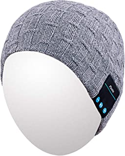 Bluetooth Beanie, Unsex Washable Wireless Headphones for Outdoor Sports