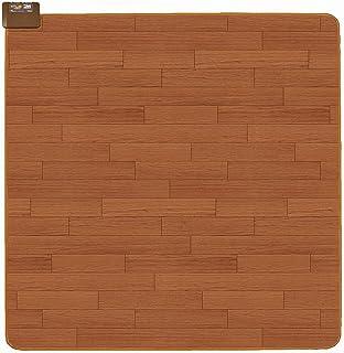 広電(KODEN) ホットカーペット 2畳 本体 防水 ブラウン フローリング キッチン対応 省エネ 面切換 8hOFF スライド温度調節 176×176cm CWC2015-WBZ