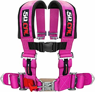 UTV PINK SXS and More! 2 5 Point Racing Harness Sand Rails 6009-A2 Dune Buggies For Offroad Vehicles