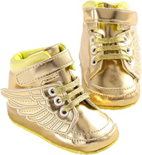 Mjun® Baby Girls Toddlers Shoes Anti-Slip Sneakers Angel Wings Boots Shoes
