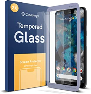 Caseology Screen Protector for Google Pixel 3 XL Tempered Glass (2018) - 2 Pack