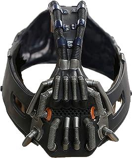 Bane masque adulte métal couleur destructeur masque Batman film personnage le chevalier noir se lève Cosplay accessoire de...