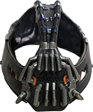 Máscara de destructor de Color metálico para adultos máscara de Batman personaje de película El caballero oscuro se levanta accesorio de disfraz de Cosplay