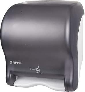 San Jamar T8400TBK Smart Essence Electronic Roll Towel Dispenser, 11.8w x 9.1d x 14.1