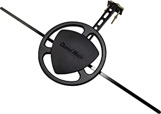 Channel Master Omni+ CM-3011HD - Omnidirectional Outdoor TV Antenna with Mounting Bracket - 50 Mile Range