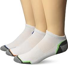 Top Flite Men's Sport Performance Moisture Wicking Low Cut Socks 3 Pair Pack