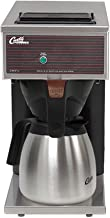 Wilbur Curtis Commercial Pourover Coffee Brewer 64 Oz Low Profile Thermal Carafe Coffee Brewer - Coffee Maker with Fast-Brewing System - CAFE0PP10A000 (Each)