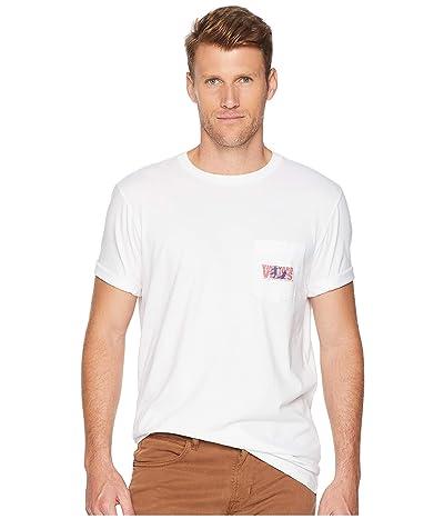Vineyard Vines Short Sleeve Knockout Soccer Pocket Tee (White Cap) Men