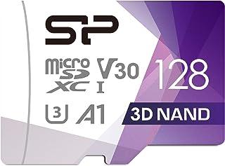Silicon Power (FBE SU128GBSTXDU3V20EU) MicroSDXC UHS 3 Speicherkarte (128 GB)