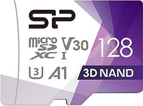 Silicon Power FBE-SU128GBSTXDU3V20EU - Tarjeta de Memoria microSDXC UHS-3 (128 GB)