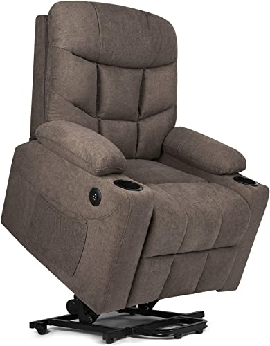 discount Artist Hand Electric Power Lift Recliner, Lift Massage Chair for Elderly Pregnantly, Living Room Sofa Chair with 8 Point Massage, Lumbar lowest Heated,USB outlet sale Charging Port sale