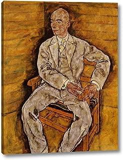 Portrait of Victor Ritter von Bauer by Egon Schiele - 8