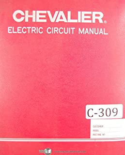 Chevalier FSG Surface Grinder Electric Circuit Diagrams & Parts Manual