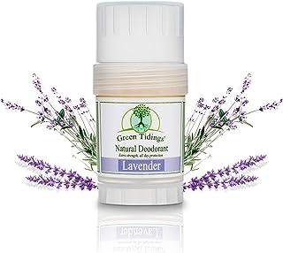 Green Tidings Natural Lavender Deodorant | Vegan, Organic Deodorant for Men and Women, Fragrance Free & Alu...