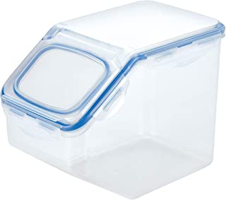 Lock & Lock HPL700 PP Dry Food Container with Plastic Lid, Clear, W 6.34 x H 7.6 x L 10.63 cm, 21.1-cup
