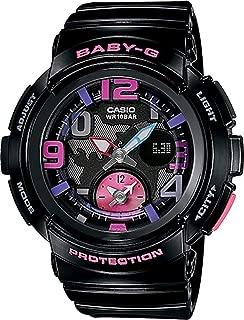 Casio Baby G Women BGA190-1B Year-Round Analog-Digital Automatic Black Watch