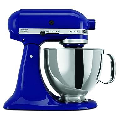KitchenAid KSM150PSBU Artisan Series 5-Qt. Stand Mixer with Pouring Shield - Cobalt Blue