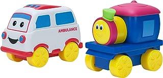 Bob The Train Push-N-Zoom Pals 2 Pack, Bob the Train & Ambulance