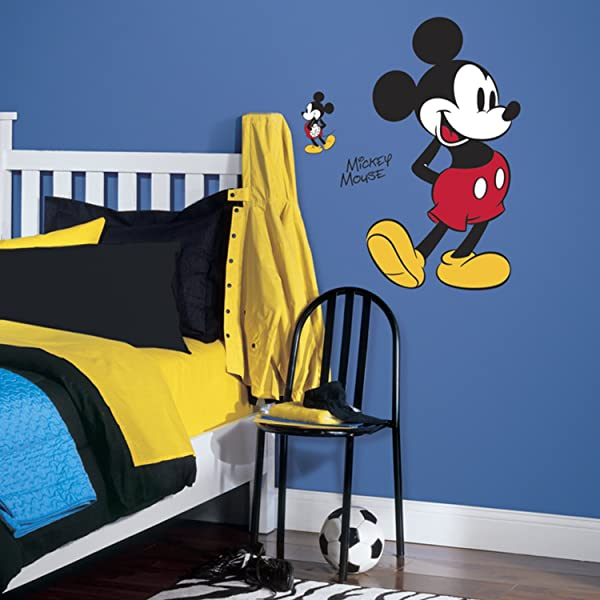 RoomMates Mickey Mouse Peel And Stick Giant Wall Decals