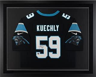 Luke Kuechly Carolina Panthers Framed Autographed Black Nike Limited Jersey - Fanatics Authentic Certified