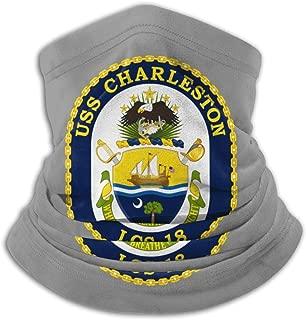 Army Emblem USS Gabrielle Giffords LCS18 Neck Warmer Neck Gaiter Face Mask Black