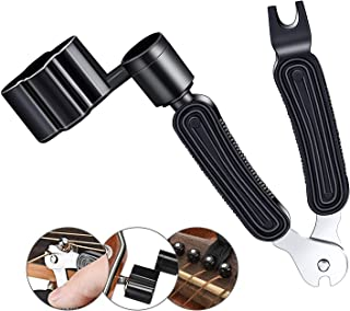 3 In 1 Multifunctional Guitar Maintenance Tool/String Peg Winder + String Cutter + Pin Puller Instrument Accessories-Desig...