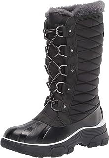 JBU by Jambu Women's Lorina Waterproof Winter Boot, Black, 6