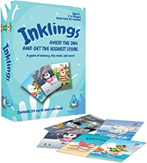 Inklings Math and Memory Card Game for Kids, Ages 5 and Up, Fun and Interactive Play, Early Learning and Educational for E...