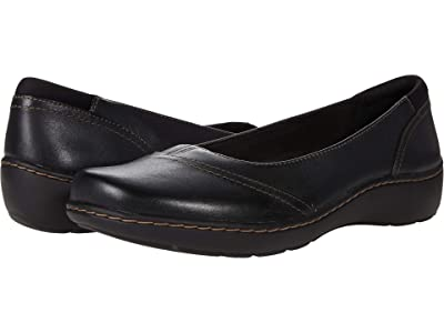 Clarks Cora Eliza (Black Leather) Women