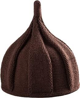 Letuwj Babies Beanie Knitted Acorns Caps Sharp Pointed Cap