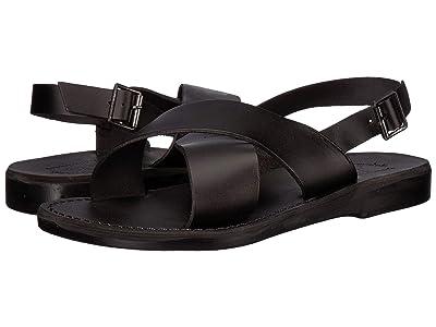 Jerusalem Sandals Elan Buckle (Black) Men