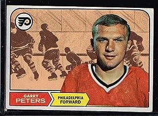 1968 NHL Hockey Card Topps Garry Peters #99 Philadelphia Flyers