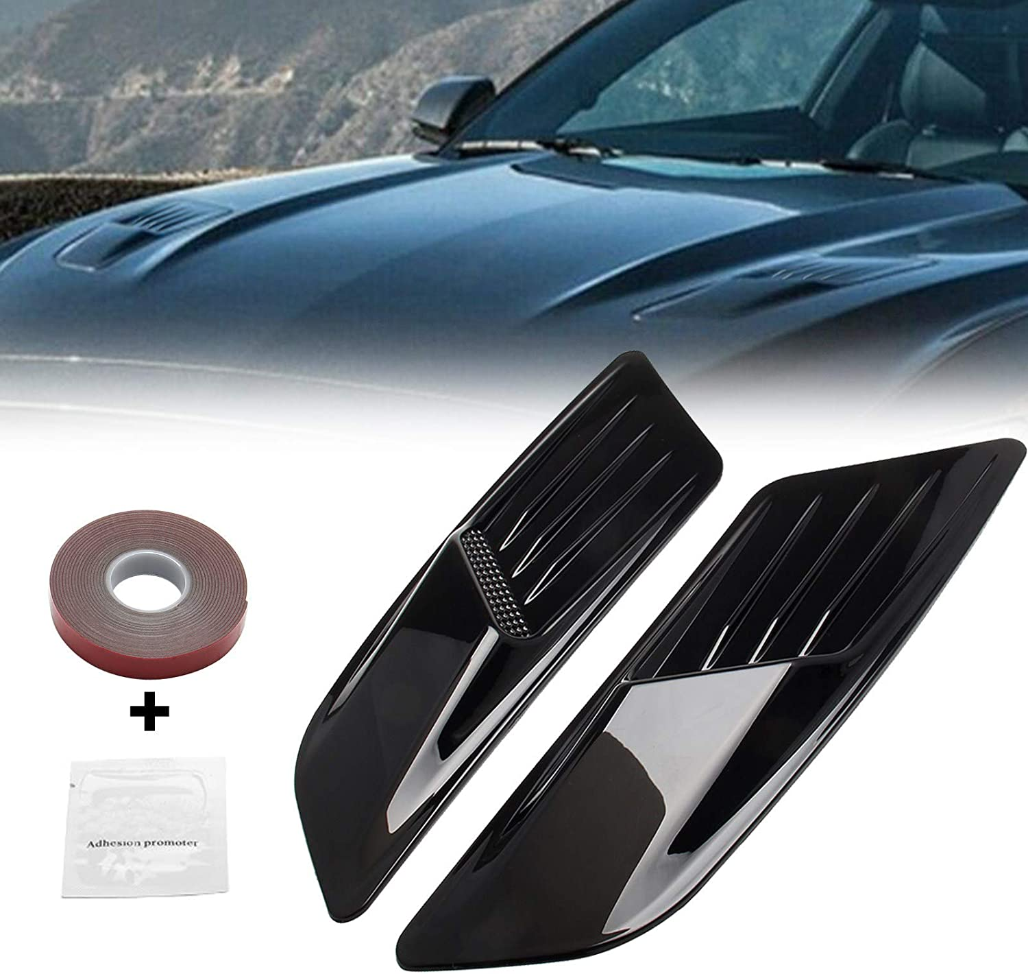Artudatech Front Hood Air Vent Molding for Some reservation Cover Sale special price Trim Ford Musta