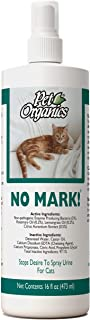 NaturVet – Pet Organics No Mark Spray For Cats – 16 oz – Deters Cats From Urine Marking & Eliminates Impulse to Remark – Safe for Use On Indoor Surfaces