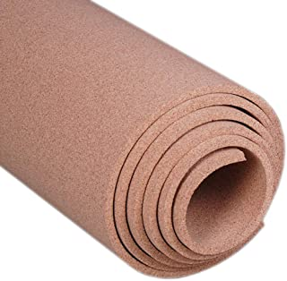 """Manton Cork Roll, 100% Natural, 4` x 6` x 1/2"""" - Thickest Available"""