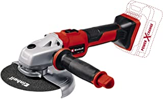 Einhell 4431144 Angle grinder without battery, Red,Black
