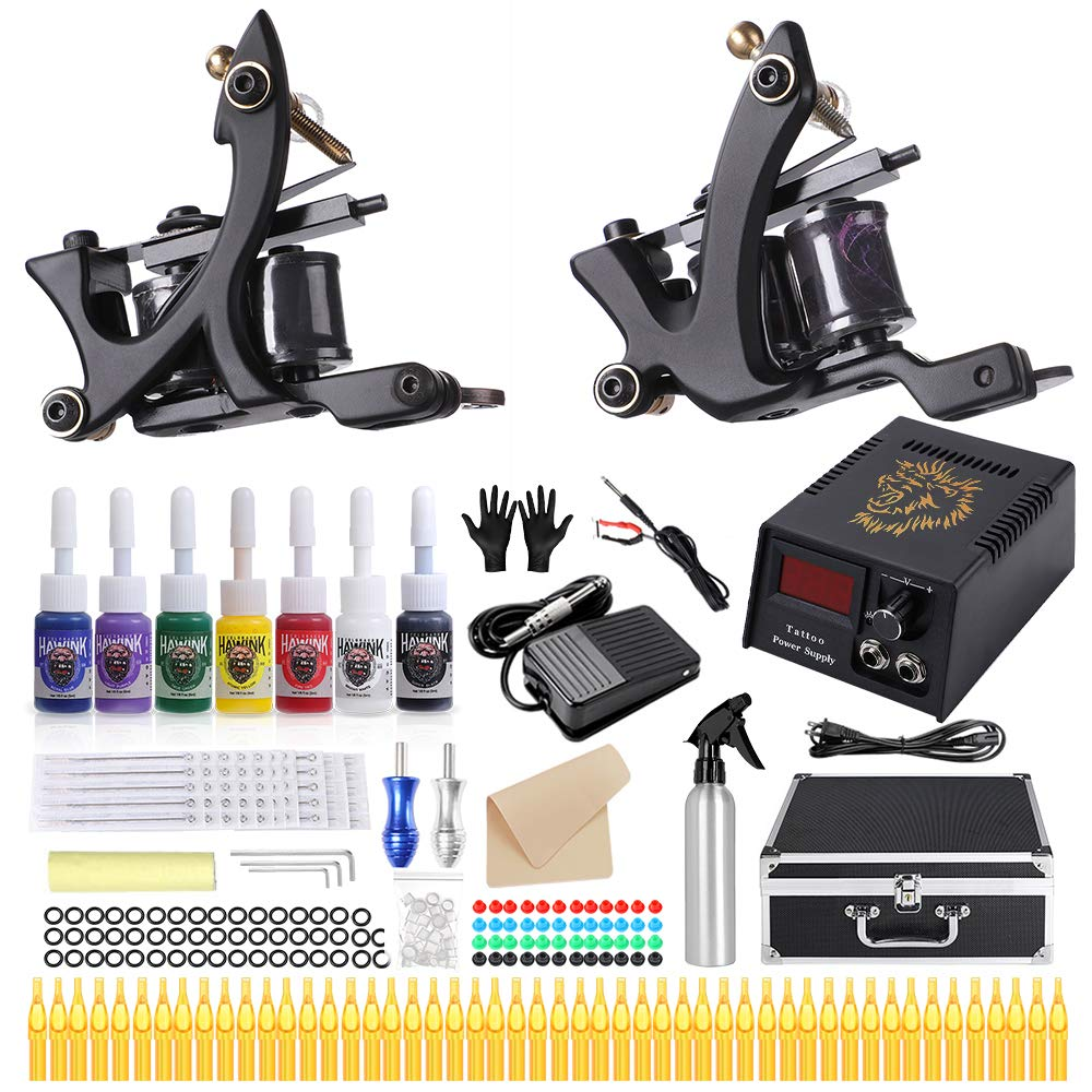 HAWINK Complete Tattoo mart New item Kit for Power Supply Beginners